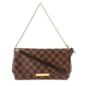 Authentic Louis Vuitton Favorite MM Damier Ebene